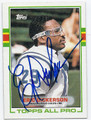 ERIC DICKERSON INDIANAPOLIS COLTS AUTOGRAPHED VINTAGE FOOTBALL CARD #82616E