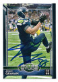 JIMMY GRAHAM SEATTLE SEAHAWKS AUTOGRAPHED FOOTBALL CARD #90216B