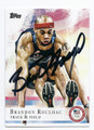 BRANDON ROULHAC US OLYMPIC TEAM TRACK & FIELD AUTOGRAPHED CARD #90516A
