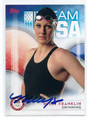 MISSY FRANKLIN US OLYMPIC SWIM TEAM AUTOGRAPHED CARD #90516D