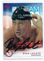 RYAN LOCHTE OLYMPIC SWIMMING AUTOGRAPHED CARD #90616A