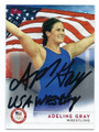 ADELINE GRAY OLYMPIC WRESTLING AUTOGRAPHED CARD #90616E