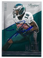 JEREMY MACLIN PHILADELPHIA EAGLES AUTOGRAPHED FOOTBALL CARD #90716A
