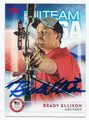 BRADY ELLISON US OLYMPIC ARCHERY TEAM AUTOGRAPHED CARD #90716B