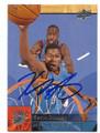 KEVIN DURANT OKLAHOMA CITY THUNDER AUTOGRAPHED BASKETBALL CARD #90716C