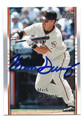 MARK SWEENEY SAN FRANCISCO GIANTS AUTOGRAPHED BASEBALL CARD #90816A