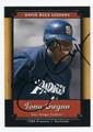 TONY GWYNN SAN DIEGO PADRES AUTOGRAPHED BASEBALL CARD #91216A