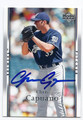 CHRIS CAPUANO MILWAUKEE BREWERS AUTOGRAPHED BASEBALL CARD #91216E