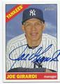 JOE GIRARDI NEW YORK YANKEES AUTOGRAPHED BASEBALL CARD #92016E