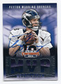 PEYTON MANNING DENVER BRONCOS AUTOGRAPHED FOOTBALL CARD #92116A