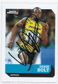USUAN BOLT OLYMPIC TRACK & FIELD AUTOGRAPHED CARD #92216C