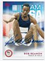 BOB BEAMON AUTOGRAPHED OLYMPICS CARD  #92616A