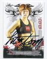 HITOMI AKANO MIXED MARTIAL ARTIST AUTOGRAPHED CARD #92916D