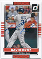 DAVID ORTIZ BOSTON RED SOX AUTOGRAPHED BASEBALL CARD #93016B