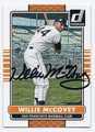 WILLIE McCOVEY SAN FRANCISCO GIANTS AUTOGRAPHED BASEBALL CARD #100116A