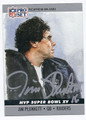 JIM PLUNKETT OAKLAND RAIDERS AUTOGRAPHED FOOTBALL CARD #100116D