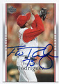 FRANCISCO RODRIGUEZ ANAHEIM ANGELS AUTOGRAPHED BASEBALL CARD #100416B