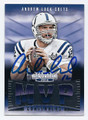 ANDREW LUCK INDIANAPOLIS COLTS AUTOGRAPHED FOOTBALL CARD #100416E