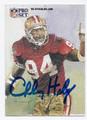 CHARLES HALEY SAN FRANCISCO 49ers AUTOGRAPHED FOOTBALL CARD #100516C