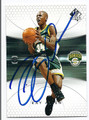 RAY ALLEN SEATTLE SUPERSONICS AUTOGRAPHED BASKETBALL CARD #100916B