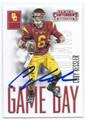 CODY KESSLER USC TROJANS AUTOGRAPHED ROOKIE FOOTBALL CARD #102116B