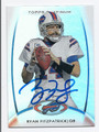 RYAN FITZPATRICK BUFFALO BILLS AUTOGRAPHED FOOTBALL CARD #102216C