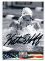 KATIE HOFF AUTOGRAPHED OLYMPIC SWIMMING CARD #102516E