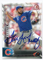 JAKE ARRIETA CHICAGO CUBS AUTOGRAPHED BASEBALL CARD #103016E