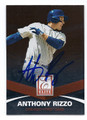 ANTHONY RIZZO CHICAGO CUBS AUTOGRAPHED BASEBALL CARD #110316B