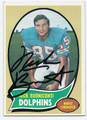 NICK BUONICONTI MIAMI DOLPHINS AUTOGRAPHED VINTAGE FOOTBALL CARD #110316D