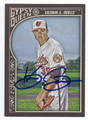 KEVIN GAUSMAN BALTIMORE ORIOLES AUTOGRAPHED BASEBALL CARD #110416D
