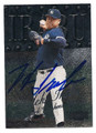 HIDEKI IRABU NEW YORK YANKEES AUTOGRAPHED BASEBALL CARD #110416F