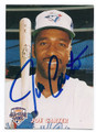 JOE CARTER TORONTO BLUE JAYS AUTOGRAPHED BASEBALL CARD #110516F