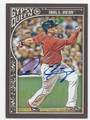 ALLEN CRAIG BOSTON RED SOX AUTOGRAPHED BASEBALL CARD #110716B