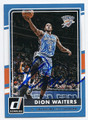 DION WAITERS OKLAHOMA CITY THUNDER AUTOGRAPHED BASKETBALL CARD #110916A