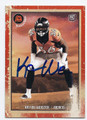 KAYVON WEBSTER DENVER BRONCOS AUTOGRAPHED ROOKIE FOOTBALL CARD #110916B