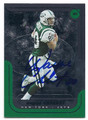 WAYNE CHREBET NEW YORK JETS AUTOGRAPHED FOOTBALL CARD #110916E