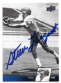 STEVE LARGENT UNIVERSITY OF TULSA AUTOGRAPHED FOOTBALL CARD #111116B