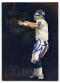 KERRY COLLINS NEW YORK GIANTS AUTOGRAPHED FOOTBALL CARD #111116F