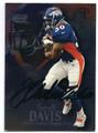 TERRELL DAVIS DENVER BRONCOS AUTOGRAPHED FOOTBALL CARD #111516A