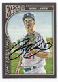 ZACK GREINKE LOS ANGELES DODGERS AUTOGRAPHED BASEBALL CARD #111516E