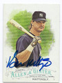 DON MATTINGLY NEW YORK YANKEES AUTOGRAPHED BASEBALL CARD #111716C