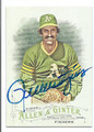 ROLLIE FINGERS OAKLAND ATHLETICS AUTOGRAPHED BASEBALL CARD #112716D