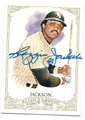 REGGIE JACKSON NEW YORK YANKEES AUTOGRAPHED BASEBALL CARD