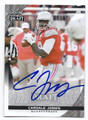 CARDALE JONES OHIO STATE BUCKEYES AUTOGRAPHED ROOKIE FOOTBALL CARD #113016H