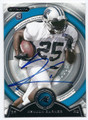 KENJON BARNER CAROLINA PANTHERS AUTOGRAPHED ROOKIE FOOTBALL CARD #120216D