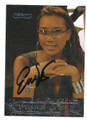 EVELYN NG AUTOGRAPHED CARD #120216F