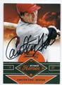 CARLTON FISK BOSTON RED SOX AUTOGRAPHED BASEBALL CARD #120316E