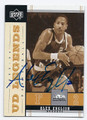ALEX ENGLISH DENVER NUGGETS AUTOGRAPHED BASKETBALL CARD #120416F