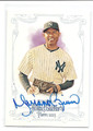 MARIANO RIVERA NEW YORK YANKEES AUTOGRAPHED BASEBALL CARD #120416G